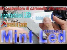 contenitore caramelle alla menta LED/candies mint box led - YouTube