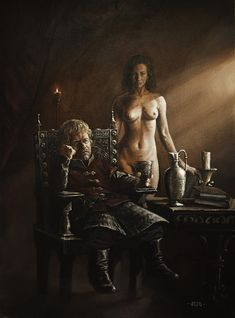 Tyrion Lannister & Shae - A Song of Ice and Fire #got #agot #asoiaf