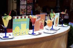 Lemonade, Spritz, Ice Shake