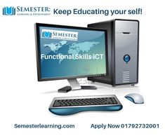 This skill is essential for most apprenticeships and equally important for any employee. It covers use of email, the internet, word processing, spreadsheets, databases and is tested in a practical way. Information Technology, Online Courses, How To Apply, Internet, Education, Learning, Teaching, Training