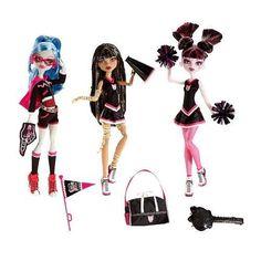 I found 'Monster High Dolls Venus Mcflytrap, Rochelle Goyle, & Robecca Steam' on Wish, check it out!