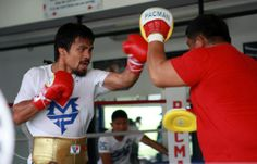 Manny Pacquiao and Brandon Rios are at the crossroads of their careers. Rios is looking for a win to catapult him to the top of the sport. Pacquiao is looking for redemption after his crushing loss to Juan Manuel Marquez. Manny Pacquiao, Pacquiao Vs, Tennis Quotes, Eva Marie, Rafael Nadal, Maria Sharapova, Muhammad Ali, Serena Williams, Roger Federer