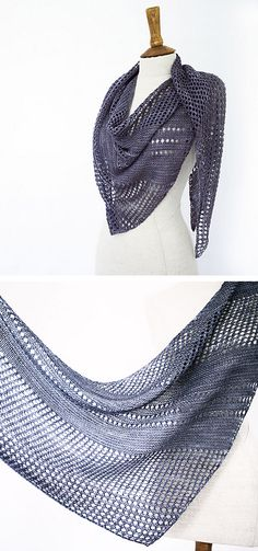 Ravelry: Antarktis shawl with Kettle Yarn Co. Islington. Knitting pattern from Woolenberry.