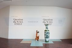 """question the wall itself"" (2016) at walker art center, minneapolis, curated by fionn meade with jordan carter"