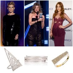 Look Who's Wearing Graziela Gems!!! Faith Hill is singing her way into our hearts in our White Everest Ring. Ellen Pompeo is surgical perfection in our White Baguette Bangles. Darby Stanchfield is sure to cause a scandal in our Yellow Hot Shot Band.