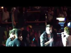One Direction singing Armageddon song (24~5~13, Madrid) - YouTube