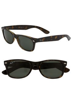 Ray-Ban New Small Wayfarer Polarized Sunglasses. The only sunglasses I've found that fit and look cute!