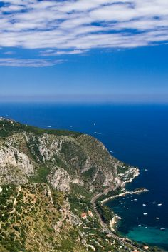 The stunning Côte d'Azur corniches (coastal roads) France 1, Natural Wonders, Roads, Coastal, Most Beautiful, Scenery, Water, Places, Holiday