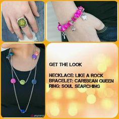 This is perfect for spring and summer! I love the bright colors and the fun of these pieces.   Order now at paparazziaccessories.com/42635. Login or create a customer account and join the Mystery Hostess Party. Remember you get 1 entry to win all the hostess rewards for every piece you purchase.