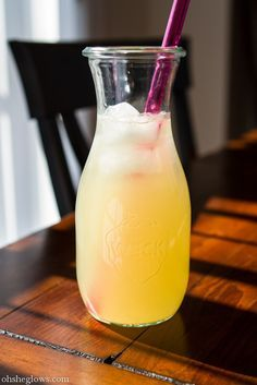 Homemade natural ginger ale, made with ginger root, honey, lemon juice and soda water  {Oh She Glows, from the book UnDiet by Meghan Telpner of Making Love in the Kitchen blog}