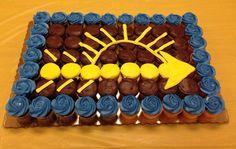 Arrow of Light cupcakes