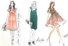 157 Mejores Imagenes De Bocetos De Moda Fashion Drawings Fashion