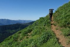 Pacific Crest Trail - Etna Summit and Marble Mountain wilderness