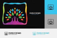 Family Care Logo by AlfianBrand™ on @creativemarket
