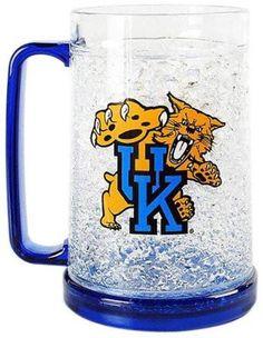 Kentucky Wildcats Crystal Freezer Mug - Monster Size