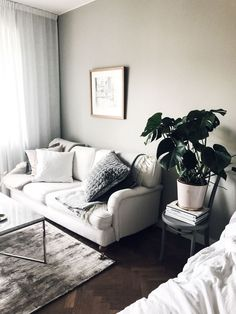 this looks so cozy | living room and bedroom decor
