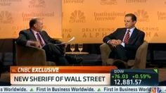 """[Video] One of the highlights from CNBC's 2nd annual #DeliveringAlpha event was Jim Cramer's interview with the """"new sheriff of Wall Street,"""" Preet Bharara. Who knew the US Attorney could be so funny?"""