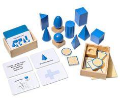 Geometrie mit Maria Montessori. Einfacher geht's kaum.