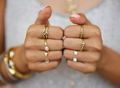 Meanings of Rings on Different Fingers #ring #accessories #jewelry
