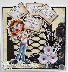 Debbie P's Place: 2017 Progressive Challenge from Bloobel Stamps