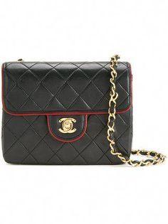 9075c30327 Chanel Vintage small CC quilted shoulder bag #WomensShoulderbags