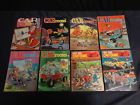 LOT OF (20) VINTAGE CAR 'TOONS AND HOT ROD CARTOONS MAGAZINES