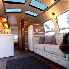 Airstream design inspired by the dream of  being, \