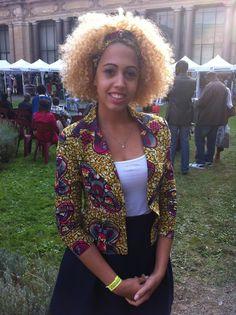 Sleek jacket ~African fashion, Ankara, kitenge, African women dresses, African prints, African men's fashion, Nigerian style, Ghanaian fashion ~DKK