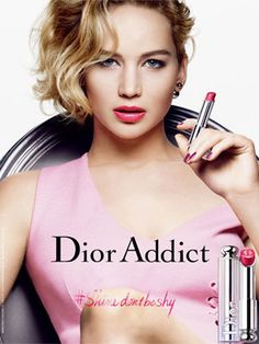 Jennifer Lawrence Dior Addict