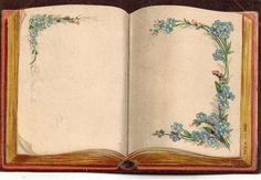 Vintage Book - label or journaling card: Old Paper Background, Book Background, Flower Background Wallpaper, Vintage Labels, Vintage Cards, Vintage Paper, Capas Samsung, Site Art, Bg Design