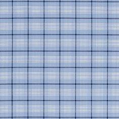 Schumacher St. Lucia Plaid Cornflower Fabric