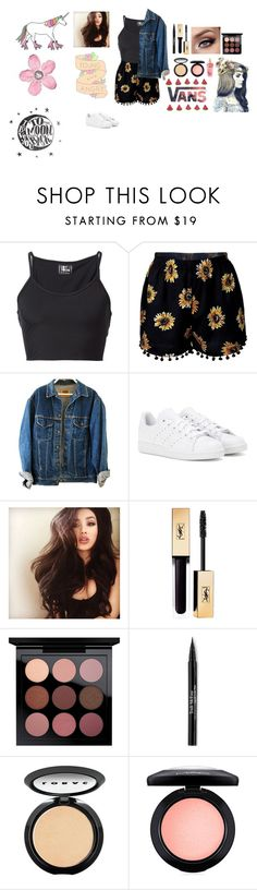 """Untitled #295"" by imfireproof01 ❤ liked on Polyvore featuring Lost & Found, adidas, MAC Cosmetics, Trish McEvoy, LORAC and Victoria's Secret"