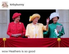 Heather, and Heather, and Heather