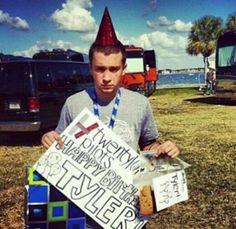 Tyler Joseph birthday~k
