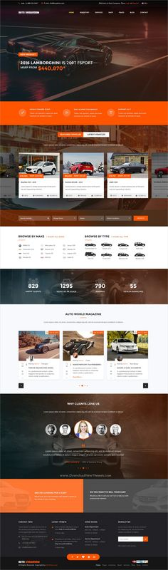 Auto showroom is clean and modern design responsive #Joomla template for #Car #Dealer & Automotive dealership who sell, buy or lease vehicles website download now..
