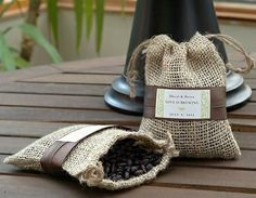 "Gourmet Organic Roast Coffee from your Honeymoon destination (i.e.. Jamaican Roast).....one of my ""Matrimonial Munchies"" (Holistic Wedding Food and Favors Ideas) in my latest ""Wanderlust Food Diaries"" article..... ""Love Times Love"" (A Bright Brooklyn Wedding Affair)"