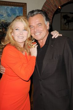 Melody Thomas Scott and Ray Wise the infamous Ian Ward Ian Ward, Ray Wise, Frederick Forsyth, Roberta Flack, Number One Song, Dreams And Nightmares, Soap Stars, Young And The Restless, Days Of Our Lives