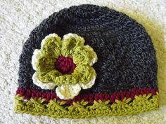 """Mary"" Textured Cloche - Crochet"
