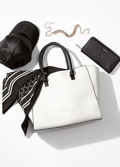 Black and white | Gina Tricot Accessories | www.ginatricot.com | #ginatricot