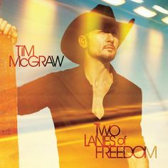 "Tim McGraw Two Lanes Of Freedom Vinyl LP ""A lot of artists can tell you how they feel,"" says Tim McGraw, ""but when somebody can tell you how you feel, and you didn t know it or couldn t put it into wo"