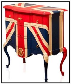 I'm thinking you can just paint a Union Jack on anything and make it good.