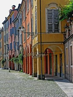 Modena, Province of Modena, Emilia Romagna region Italy. We have a place here 🇮🇹 The Places Youll Go, Places To See, Italy Information, Modena Italy, Sicily Italy, Regions Of Italy, Visit Italy, Northern Italy, Architecture