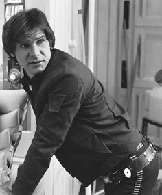 Harrison Ford as Han Solo Star Wars Art, Star Trek, Han And Leia, Original Trilogy, The Empire Strikes Back, The Force Is Strong, Carrie Fisher, Love Stars, Star Wars Episodes