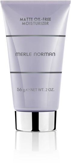 Summer Essentials Merle Norman Matte Oil-Free Moisturizer. I have super oily skin and this takes care of it so that I don't get oily through out the day. It also absorbs any excess oil with it's Powder Technology Formula.