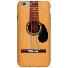 Guitar Phone Cases ($25) ❤ liked on Polyvore featuring accessories, tech accessories and phone cases