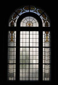 Glass window, Hamburger Bahnhof, Berlin