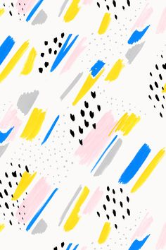 Colorful brush strokes pattern