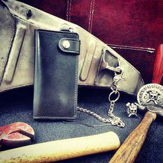 Personalizza il tuo portafoglio Biker in pelle di J10Customs