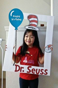 Seuss photo prop frame by PhotoPropFrame on Etsy Cute for Dr. Seuss day also Dr. Seuss, Dr Seuss Week, Dr Seuss Birthday Party, First Birthday Parties, Birthday Ideas, Photo Frame Prop, Photo Props, Photo Booths, Dr Seuss Activities