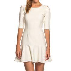 Amalia Dress Ecru, $145, now featured on Fab.